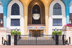 Al Alam Palace in Muscat, Oman Stock Images