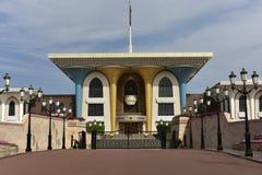 Al Alam Palace, Muscat, Oman Stock Photography