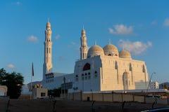 Al Ameen Mosque in recente middag zijaanzicht stock afbeelding