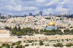 Al-Aqsa de la ciudad vieja Imagen de archivo libre de regalías