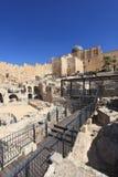 Al-Aqsa från Ophel den arkeologiska platsen Fotografering för Bildbyråer