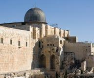 Al-Aqsa Moschee Stockfotos