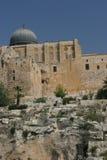 Al Aqsa Moschee Stockfotos
