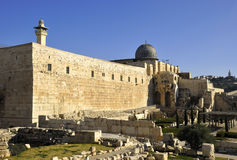 Al-Aqsa Moschee stockfotografie