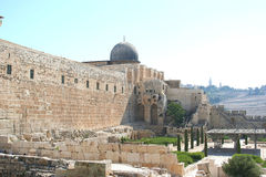 AL-AQSA MOSQUE Royalty Free Stock Photo