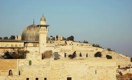 Al-Aqsa Mosque. Panorama, Jerusalem Royalty Free Stock Photo