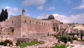 Al Aqsa mosque Royalty Free Stock Images