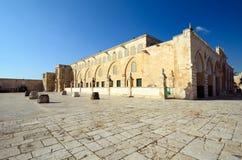 Al-Aqsa Mosque. Al Aqsa Mosque in Jerusalem, the 3rd holiest site in Islam Stock Photo