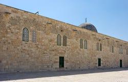 Al-Aqsa Mosque. Al-Aqsa Mosque on the Temple Mount in Jerusalem, Israel Royalty Free Stock Photos