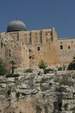 Al Aqsa Mosque. Situated in the Grouinds of the Dome of the Rock.Temple Mount Stock Photos