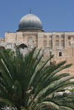 Al Aqsa Mosque. The famous mosque in the grounds of temple mount,Jerusalem Stock Images