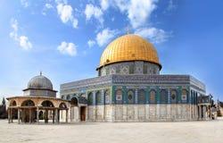Al-aqsa-mosque israel. Full view Royalty Free Stock Photos