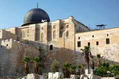 Al Aqsa Mosque in Jerusalem Stock Photos