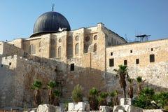 Al Aqsa Mosque in Jerusalem Stock Photos