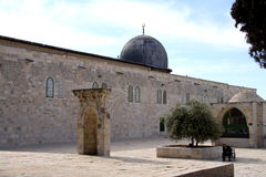 Al-aqsa Mosque in Jerusalem Stock Photo
