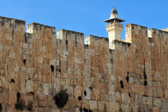 Al-Aqsa Mosque in Jerusalem Stock Photography