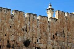 Al-Aqsa Mosque in Jerusalem. Al-Aqsa Mosque on Temple Mount Jerusalem, Israel Stock Photography