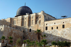 Al Aqsa Mosque in Jerusalem Stock Images