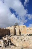Al aqsa mosque in Jerusalem Royalty Free Stock Images
