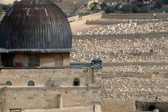 Al-Aqsa mosque in Jerusalem. Stock Photo