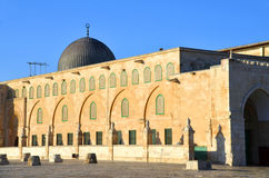 Al-Aqsa Mosque. JERUSALEM ISRAEL 26 10 16: Al-Aqsa Mosque, also known as Al-Aqsa and Bayt al-Muqaddas, is the third holiest site in Sunni Islam and is located in Stock Image