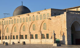 Al-Aqsa Mosque. JERUSALEM ISRAEL 26 10 16: Al-Aqsa Mosque, also known as Al-Aqsa and Bayt al-Muqaddas, is the third holiest site in Sunni Islam and is located in Stock Photography