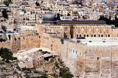 Al Aqsa mosque in Jerusalem Israel Stock Photography