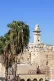Al Aqsa Mosque in Jerusalem, israel. Royalty Free Stock Photos