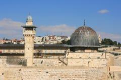 Al Aqsa Mosque in Jerusalem, israel. Royalty Free Stock Photo