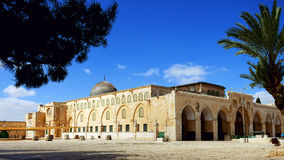 Al-Aqsa Mosque in Jerusalem Royalty Free Stock Images