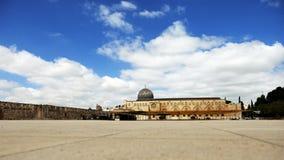 Al-Aqsa Mosque in Jerusalem Stock Photos