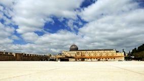 Al-Aqsa Mosque in Jerusalem Stock Image