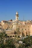 Al Aqsa Mosque in Jeruzalem, Israël Stock Foto