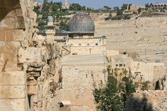 Al Aqsa Mosque in Jeruzalem, Israël Stock Afbeelding