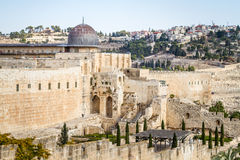 The Al-Aqsa Mosque in Old City of Jerusalem, Israel Stock Photography