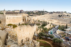The Al-Aqsa Mosque in Old City of Jerusalem, Israel Stock Images