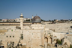 The Al-Aqsa Mosque in Old City of Jerusalem, Israel Stock Image