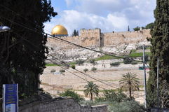 Al-Aqsa Mosque in the Old City of Jerusalem, Israel. Royalty Free Stock Photography