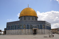 Al-Aqsa Mosque in the Old City of Jerusalem, Israel. Stock Photography