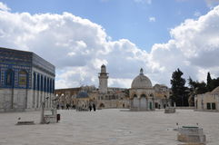 Al-Aqsa Mosque in the Old City of Jerusalem, Israel. Stock Photos