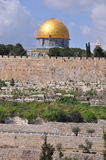 Al-Aqsa Mosque in the Old City of Jerusalem, Israel. Royalty Free Stock Photo