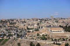 Al-Aqsa Mosque, Old City Walls, Jerusalem Royalty Free Stock Image