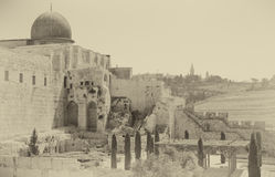 Al-Aqsa Mosque of Omar Royalty Free Stock Photo