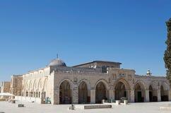 Al Aqsa Mosque. At the Temple Mount, Jereusalem, Israel Royalty Free Stock Image