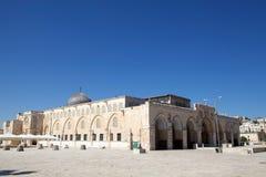 Al Aqsa Mosque. At the Temple Mount, Jereusalem, Israel Royalty Free Stock Photos