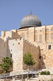 Al Aqsa Mosque. Temple Mount.  Jerusalem. Stock Photos