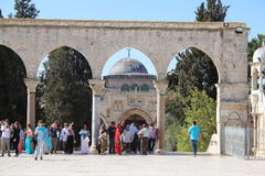Al aqsa mosque - Temple Mount - Jerusalem Royalty Free Stock Image
