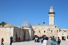 Al Aqsa Mosque - Temple Mount - Jerusalem - Israel Stock Images