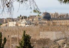 Al-Aqsa Mosque, Temple Mount in Jerusalem Stock Photography