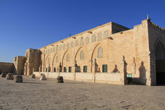 Al-Aqsa Mosque, on the Temple Mount, Jerusalem, Israel Stock Images